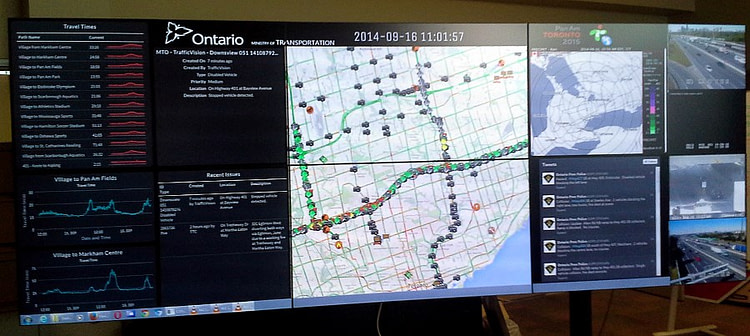 MTO Downsview TOC dashboard